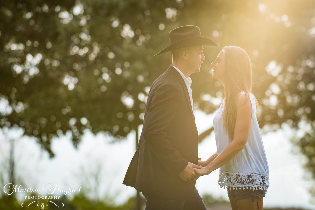 Country Engagement Photography by Matthew Hayford Photography