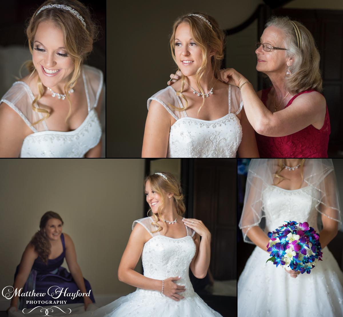 Bridal Portraits at The Royal Crest Room by Matthew Hayford Photography