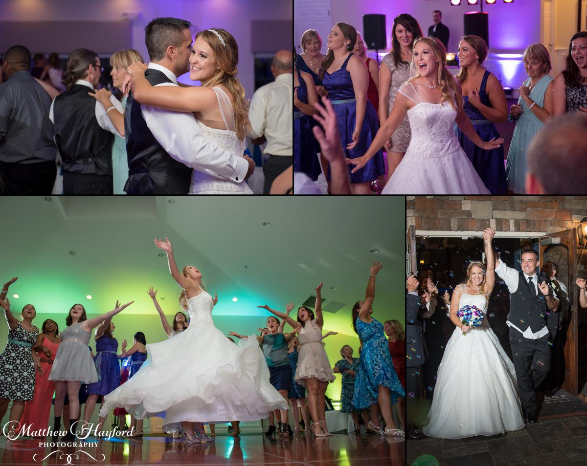 Reception Photos at the Royal Crest Room by Matthew Hayford Photography