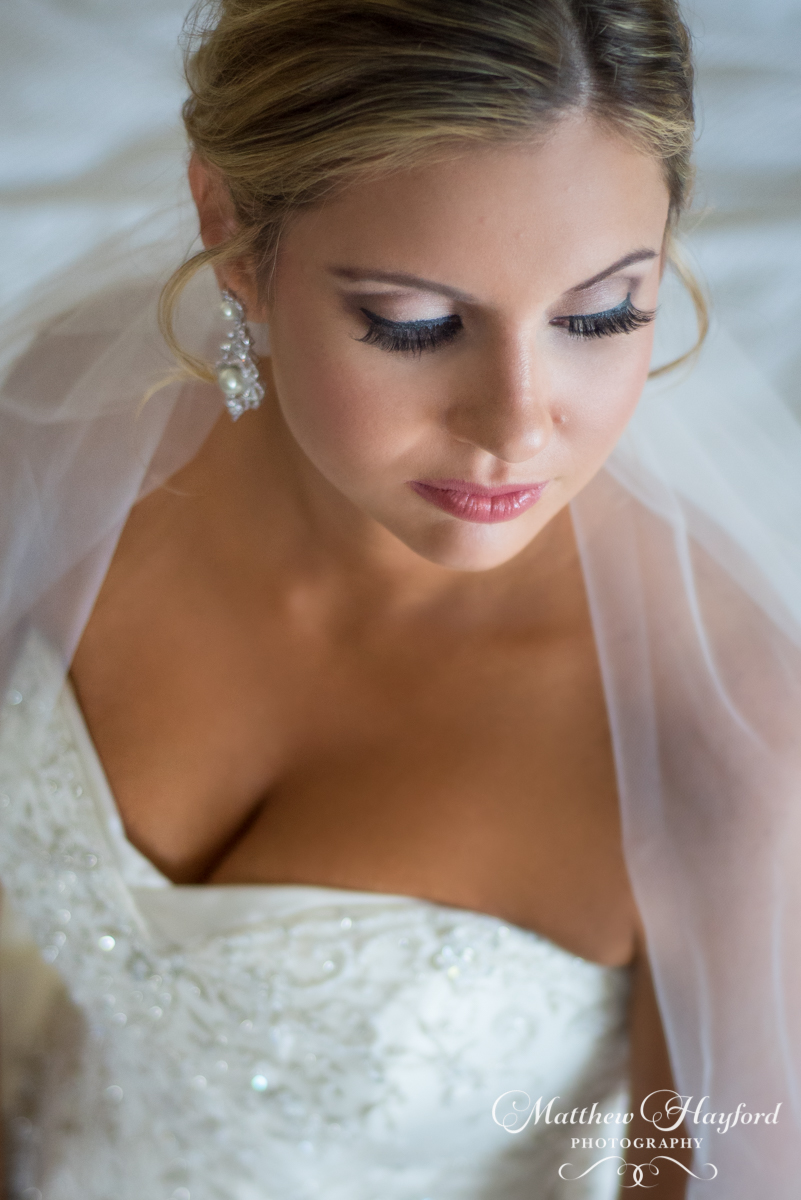 Bridal Portraits by Matthew Hayford Photography