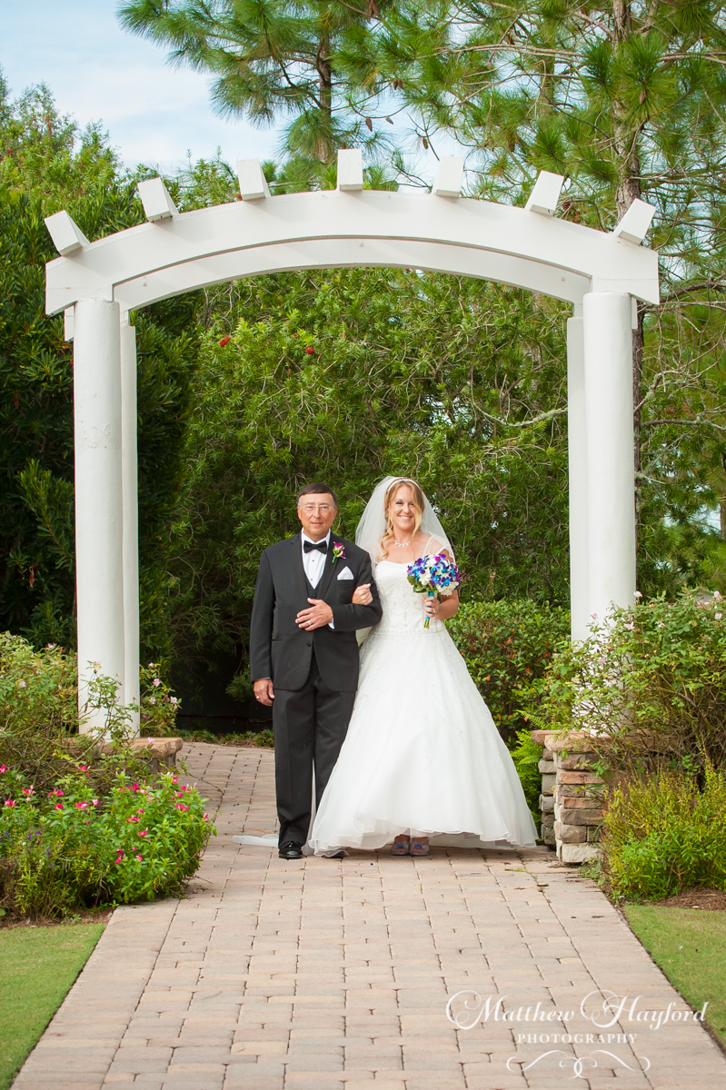 Ceremony at the Royal Crest Room by Matthew Hayford Photography