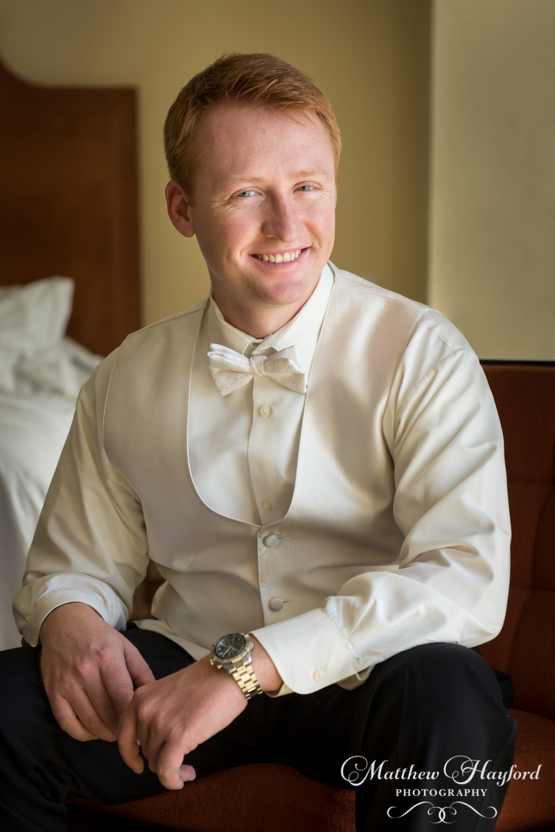Groom Portraits by Matthew Hayford Photography